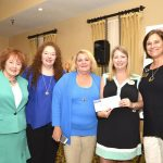 Daughters of Penelope Presents Check of $2,000…Becomes $4,000 Donation