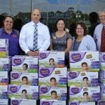 Police & Kids Foundation Donates Diapers to Pasco Kids First