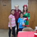 King Pithla at Healthy Families Brunch with Santa
