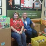 Primrose School donates food for families during the holidays