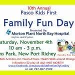10th Annual Family Fun Day Presented by Morton Plant North Bay
