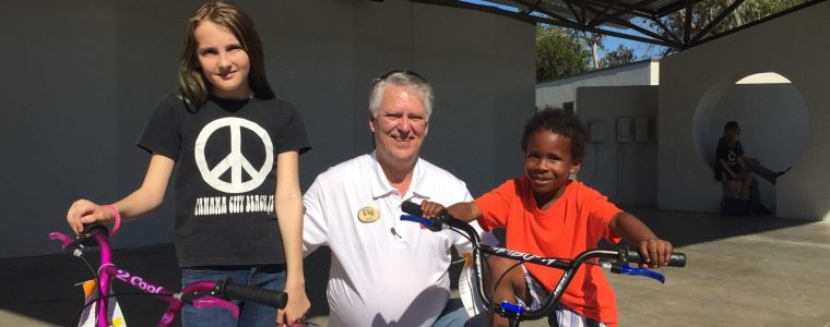 Family Fun Day Bicycle Winners