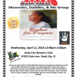 April 11th – Author Shares Story at Healthy Families Mom Group