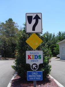 Pasco Kids First Sign Post