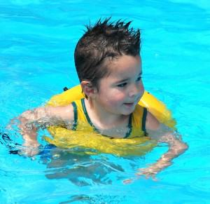 Safety arond the pool